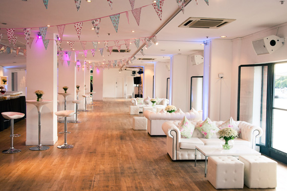 OXO2 Venue Hire SE1, large open event space with natural daylight over looking the river