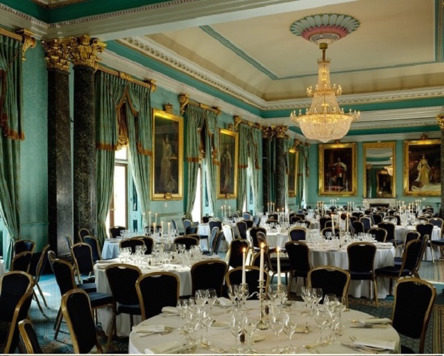 The Ballroom 116 Pall Mall Dressed for dinner
