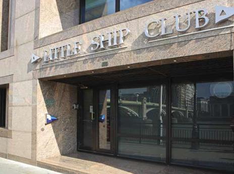Exterior view of Little Ship Club Summer Party Venue EC4