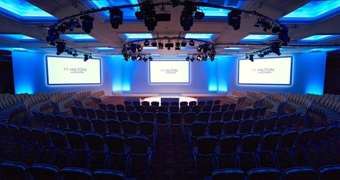 Hilton London Metropole Venue Hire W2, conference style venue hire