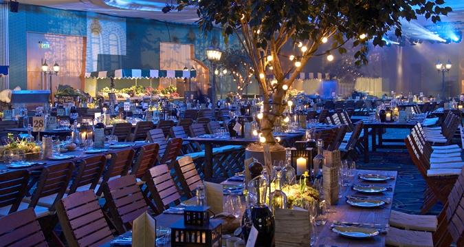 Hilton London Metropole Venue Hire W2, themed evening