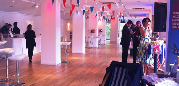 OXO2 Summer Party Venue London SE1, blank canvas venue on the southbank, versatile event space