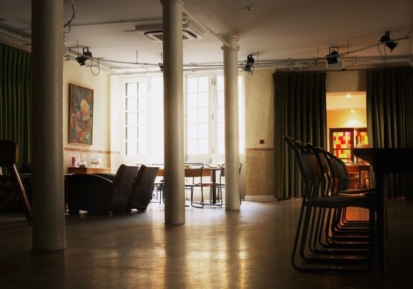 Tanner Warehouse Christmas Party SE1 space with columns and alot of space for events