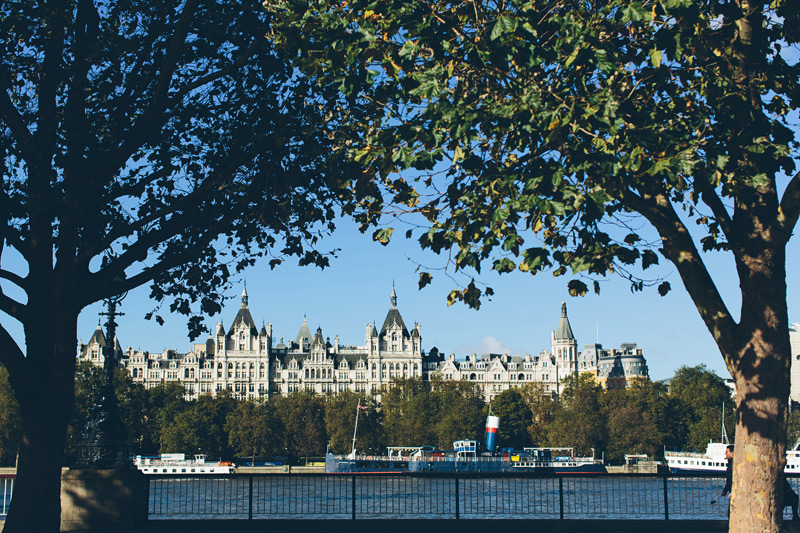 Royal Horseguards Hotel Summer Party SW1, views of the thames