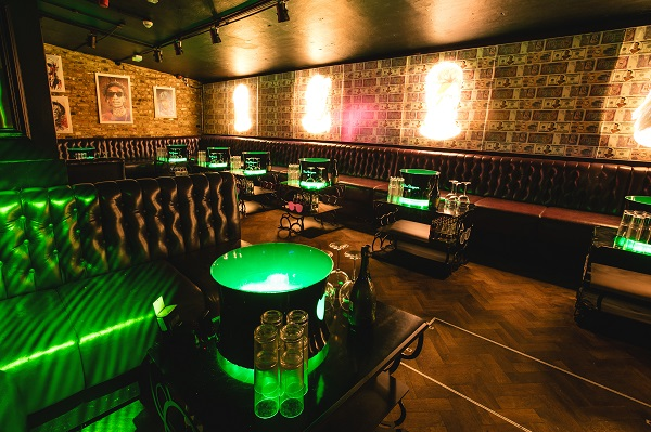 Toy Room Venue Hire W1 furnishings inside of nightclub