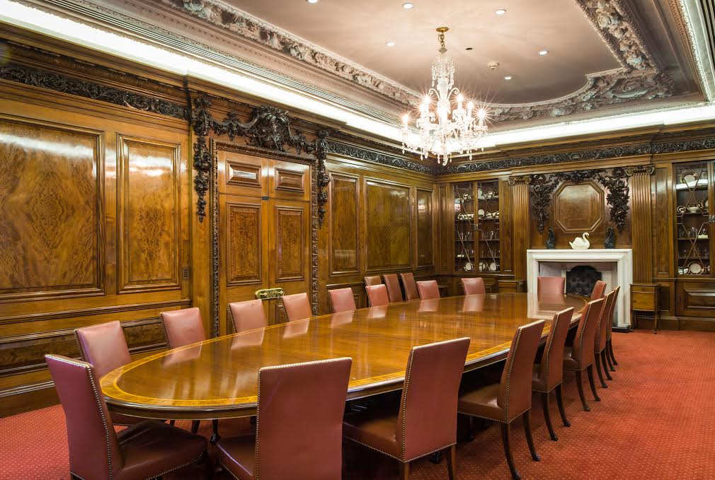 Vintners Hall Christmas Party EC4, smaller private room, exclusive Christmas lunch