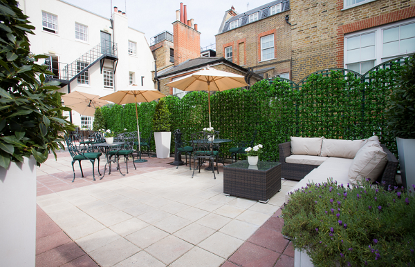 30 Pavilion Road Venue Hire SW1, outside space with furniture