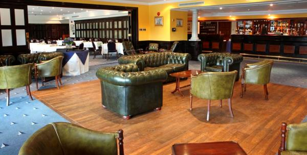 inside view with informal seating Little Ship Club Summer Party Venue EC4
