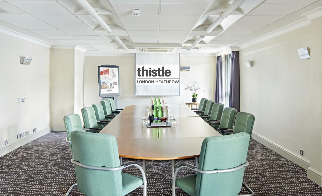 Thistle Heathrow Venue Hire UB7 boardroom meeting