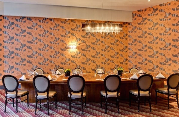 Cumberland Hotel Christmas Party W1, private dining room, more intimate christmas lunch/dinner feel