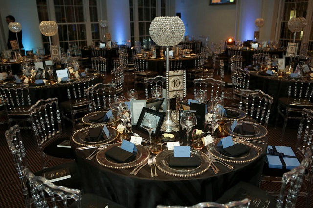 195 Piccadilly Venue Hire W1, venue set up for private dinner