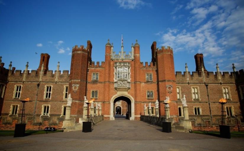 Hampton Court Palace Venue Hire KT8, venue exterior, arched walkways, stunning entrance