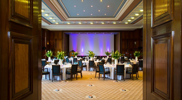 Dinner layout in the Nuffiled Room Rooms on Regent's Park Venue Hire NW1