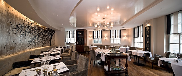 Hush Mayfair Venue Hire W1, Contempary feel restaurant.