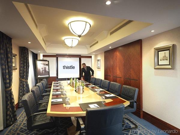 Thistle City Barbican Venue Hire EC1 boardroom style