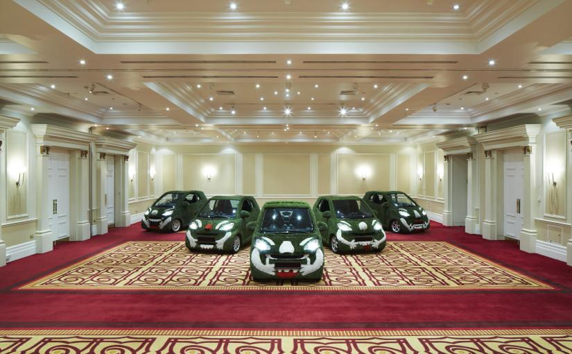 Marriott Regents Park Venue Hire NW3 showroom in large event room