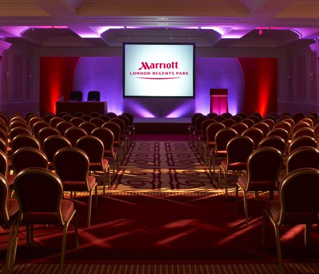 Marriott Regents Park Venue Hire NW3 theatre style cinema