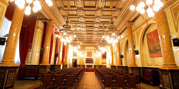 Royal Horseguards One Whitehall Place Venue Hire SW1 conference set up theatre style