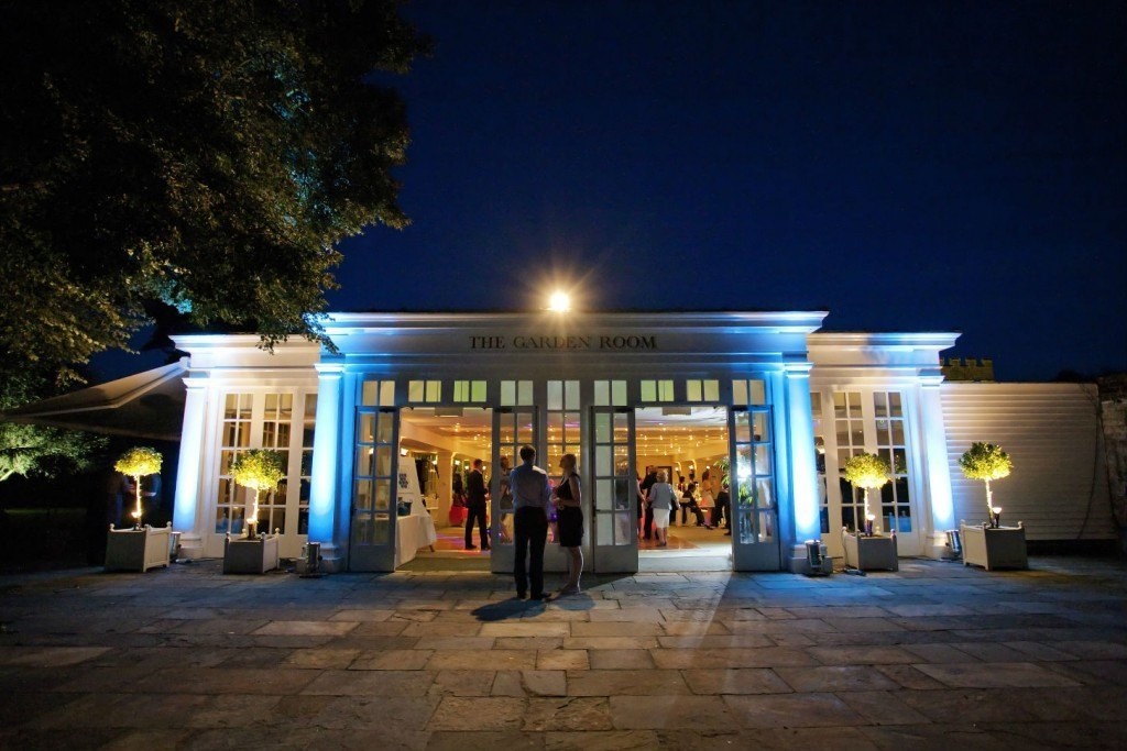 Hampton Court Palace Venue Hire KT8, outside space, marble area, large open doors