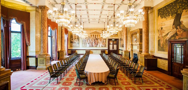 Royal Horseguards One Whitehall Place Venue Hire SW1 meeting set up theatre style