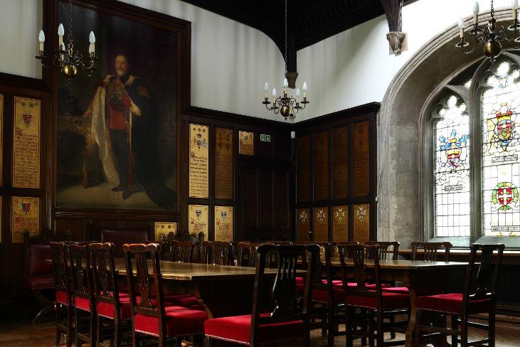 Museum Order of St John Venue Hire EC1 room in the venue