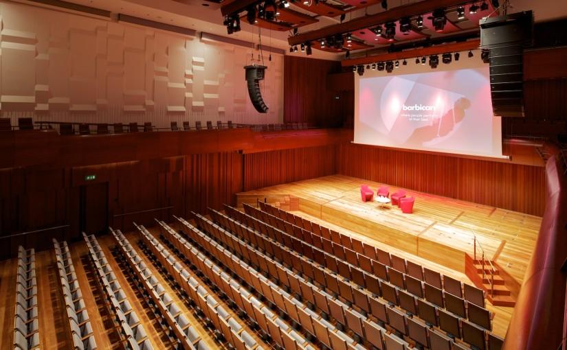 Milton Court Venue Hire EC2 theatre style