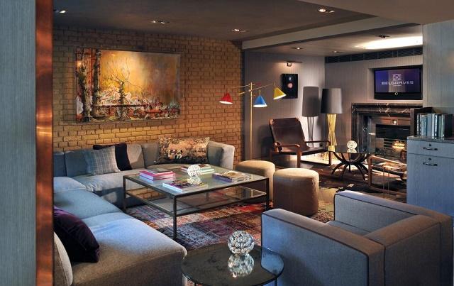 Hari Hotel Venue Hire SW1 ensuite glamrous suite
