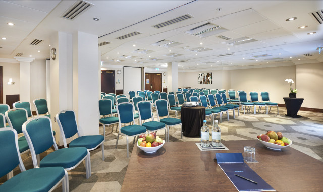 Hilton London Olympia Venue Hire W1, conference set up