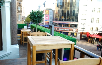 Ruby Blue Venue Hire WC2, outdoor space, summer