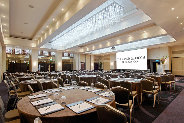 Montcalm Marble Arch Venue Hire W1 round banqueting tables