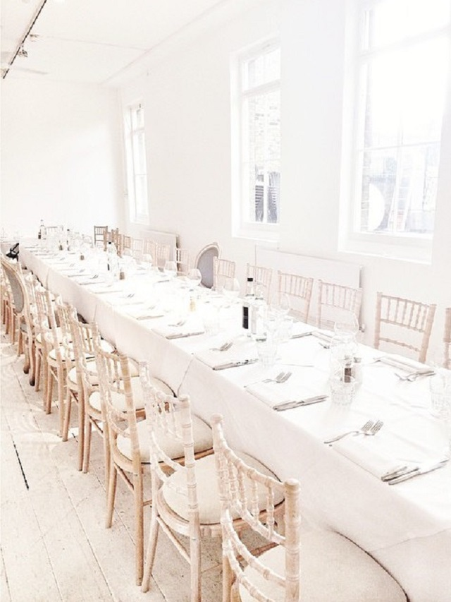 Beach Blanket Babylon Venue Hire E1, Seated dining room