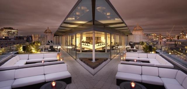 ME London Venue Hire WC2 roof terrace