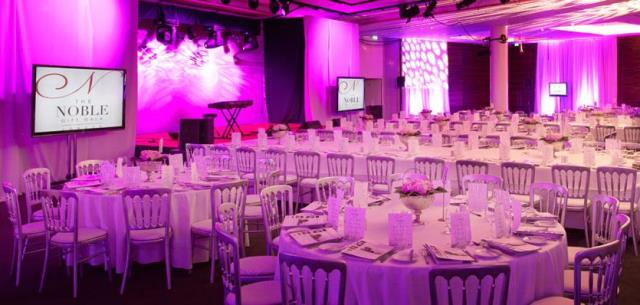 ME London Venue Hire WC2 conference set up banqueting style