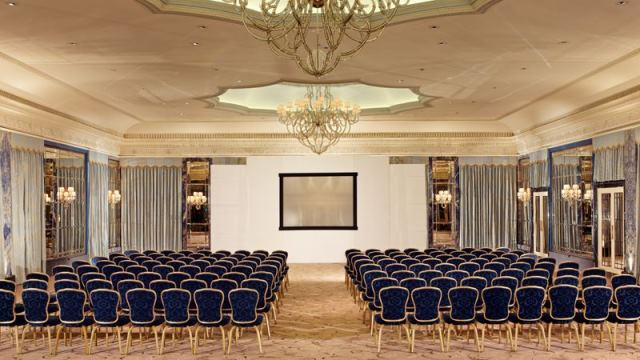 Dorchester Hotel Venue Hire W1 theatre style conference