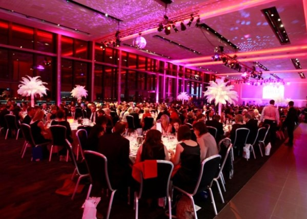 1864 Suite in theatre style with a stage Emirates Old Trafford Venue Hire M16