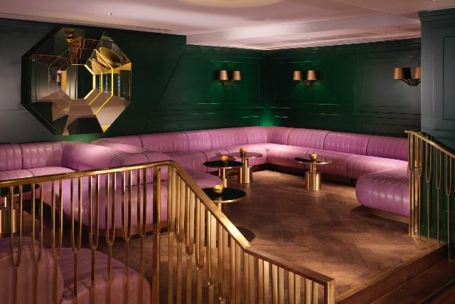 Mondrian Hotel Venue Hire SE1. furnishings inside of venue.