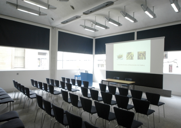 Theatre style Meeting Room Manchester Art Gallery Venue Hire M2