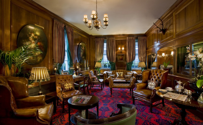 Chesterfield Mayfair Venue Hire London W1, unique library with beautiful furniture