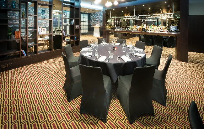 Lounge Dinner and Upper Lounge Malmaison London Christmas Party EC1