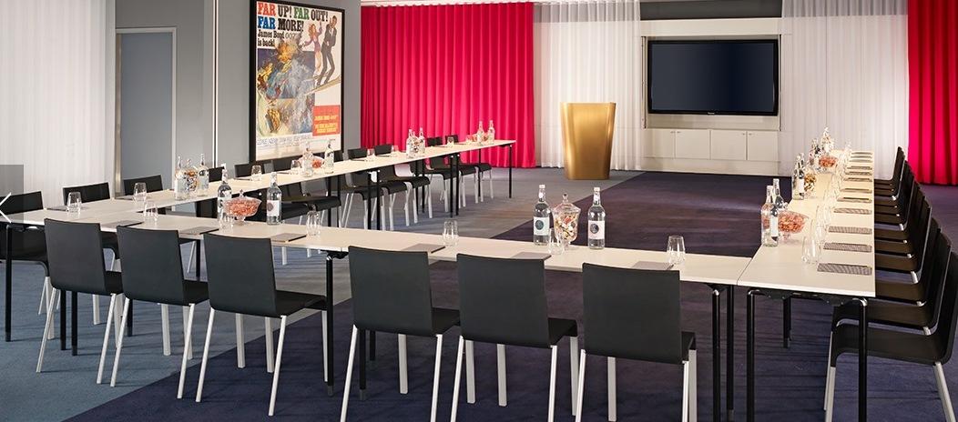Mondrian Hotel Venue Hire SE1 u-shape conference