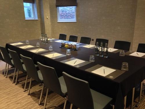 Malmaison London Venue Hire EC1 boardroom style