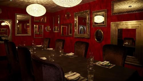 Private Dining Room Malmaison London Venue Hire EC1