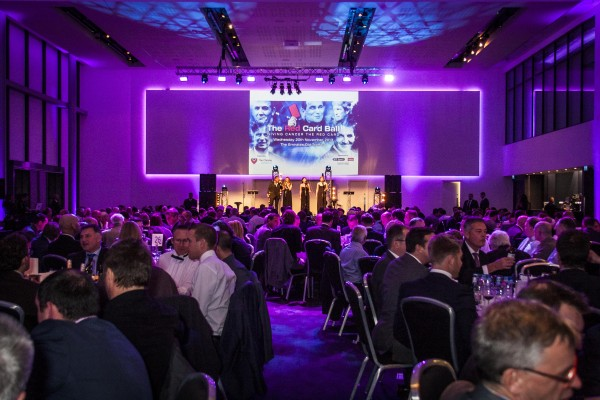 Members Suite set up for a dinner dance Emirates Old Trafford Venue Hire M16