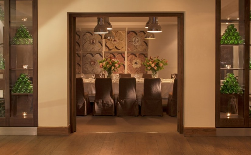 Staverton Park Christmas Party NN1, private dining room with long table