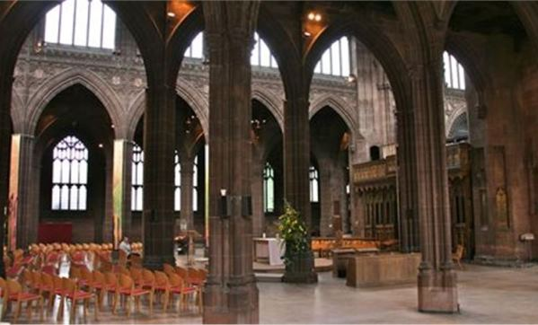 Theatre Style Manchester Cathedral Venue Hire M3