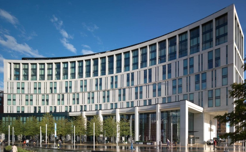Hilton Liverpool Venue Hire L1, outside of the building