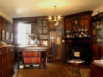 Berry Brothers & Rudd Venue Hire SW1 Library with traditional furnishings