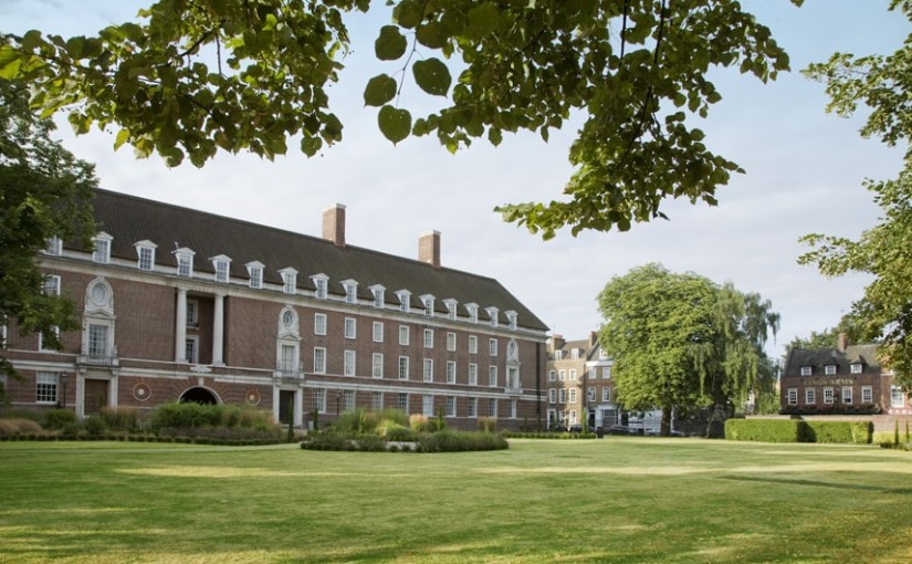 Devonport House Summer Party SE10, exgterior of the venue, large grass area,flexible outside event space