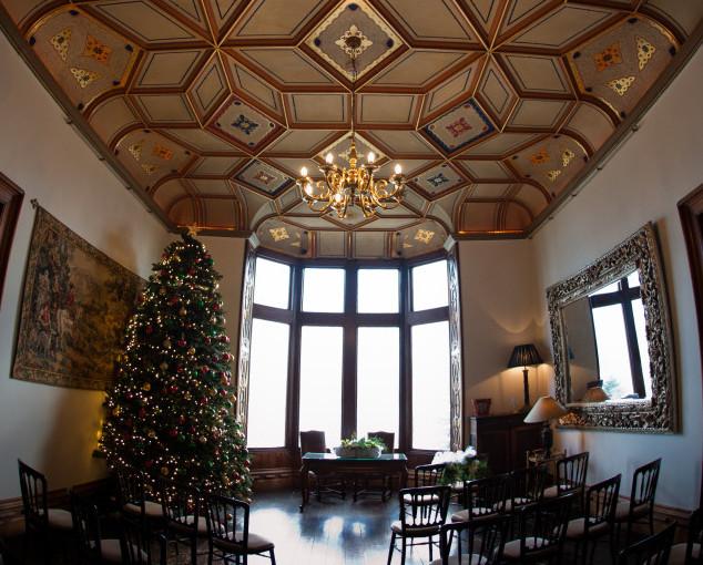 Chateau Rhianfa Shared Christmas Party LL5