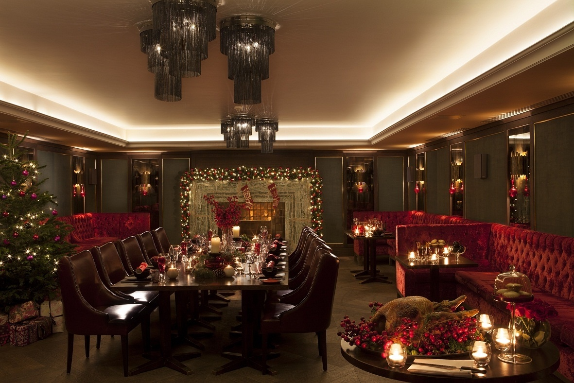 May Fair Hotel Christmas Party London W1